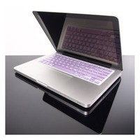 TopCase METALLIC PURPLE Keyboard Silicone Cover Skin for Macbook Pro 13&amp;quot; 15&amp;quot; 17&amp;quot; with or without Retina Display + TOPCASE Logo Mouse Pad