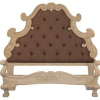 One Kings Lane - Peninsula Home - Brown Madeleine Bed, King