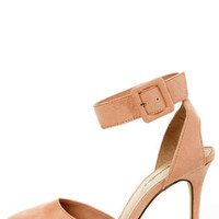 Mavis 03 Blush D'Orsay Pointed Heels