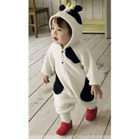 Amazon.com: Baby Cute Cow Newborn Holiday Costume kids dress up costumes: Baby