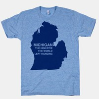 Michigan the High Five The World Left Hanging