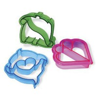 3 Sandwich Crust Cutters