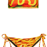 Multi Hot Dog Bandeau Bikini - Bikini Sets - Swimwear - Clothing - Topshop USA