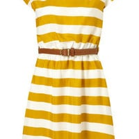 Stripe Belt Dress by Rare** - Dresses - Clothing - Topshop