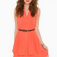 Bright Side Shirtdress in  What&#x27;s New at Nasty Gal
