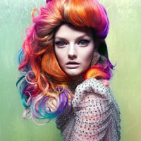 RAINBOW Ultimate Mix/ FULL HEAD // Human Remy Hair Extensions