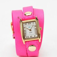 La Mer Neon Wrap Watch