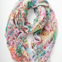 Blurred Watercolors Infinity Scarf - Anthropologie.com