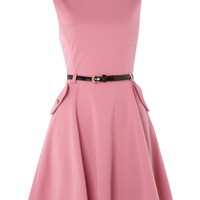 Sodamix Structured monroe dress Pink - House of Fraser
