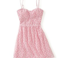 Neon Lace Dress - Aeropostale