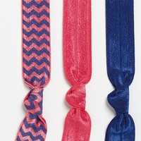 Emi-Jay 'Chevron' Hair Ties (3-Pack) | Nordstrom