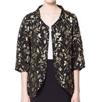 KIMONO STYLE BLAZER - Blazers - Woman - ZARA France