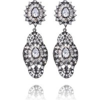 ENTRACE AT SUNSET GRAND EARRINGS - SILVER