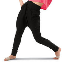 Skinny Harem Hip-Hop Pants; Urban Groove