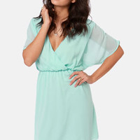 Mighty Aphrodite Mint Green Dress
