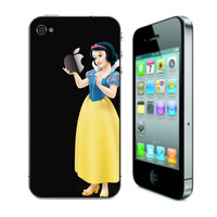 Snow White iPhone Decal iPhone Stickers iPhone Decals by ileiss