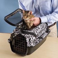 The Easy Load Pet Carrier - Hammacher Schlemmer