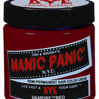 Manic Panic Hair Color Cream Vampire Red