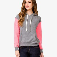Contrast Sleeve Hoodie | FOREVER 21 - 2000050024