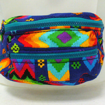 Aztec Fanny Pack by Blim on Etsy