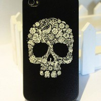 Cool Skull Hard Cover Case For Iphone 4/4s