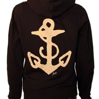 Women&#x27;s Anchor Hoodie by Sailor Jerry