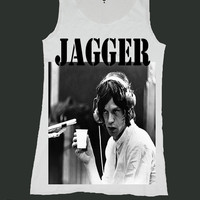 MICK JAGGER singlet screen print tank top ety120v