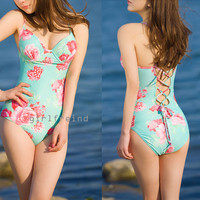 Charming flower print bikini from Girlsfriend