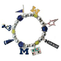 University of Michigan - Charm Bracelet