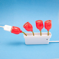 USB Flower Hub - See Jane Work