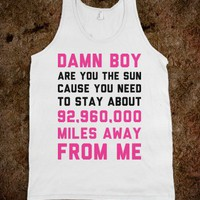 Miles Away from Me - Text Tees