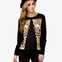 Mirrored Cheetah Pullover
