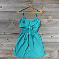 Turquoise Valley Dress, Sweet Women&#x27;s Country Clothing