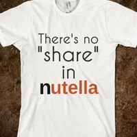 No share in Nutella - Finley Hill