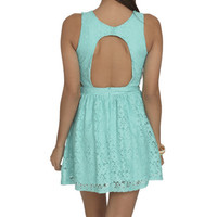 Cutout Lace Skater Dress | Shop Dresses at Wet Seal