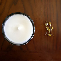 Chamomile Soy Candle - soft and floral, relaxing, soothing, calming fragrance Home, gift idea, mothers day, earth day