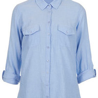 Casual Chambray Shirt