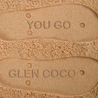 You Go Glen Coco Sand Imprint Flip Flops
