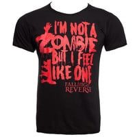 Falling In Reverse Zombie t shirt, band t shirts, Falling In Reverse merch UK