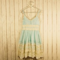 Got a Date Mint Lace Dress