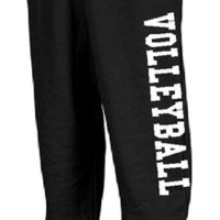 VOLLEYBALL SWEATPANTS HIGH SCHOOL SPORTS SWEAT PANTS TRAINING UNIFORM ATHLETICS
