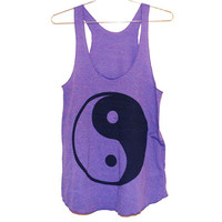 The Ying Yang Orchid Tank Top (Select Size)