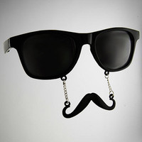 Classic Stache Glasses 