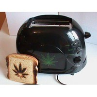 Marijuana Leaf Toaster