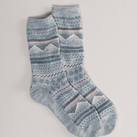 AEO Fair Isle Crew Sock | American Eagle Outfitters