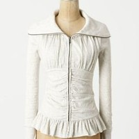Crinkled Zip-Up - Anthropologie.com