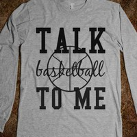 talk basketball to me - shirts
