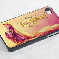 princess rapunzel tangled watercolor painting- iPhone 4 Case / iPhone 4S Case / iPhone 5 Case