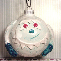 Handmade Yeti Ornament by kelseychelsey on Etsy
