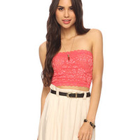 Lace Tube Top | FOREVER21 - 2064786744